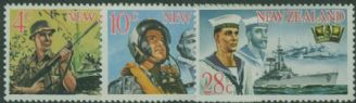 NZ SG884-6 New Zealand Armed Forces set of 3